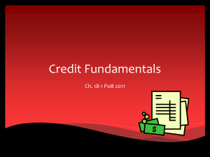 Credit Fundamentals