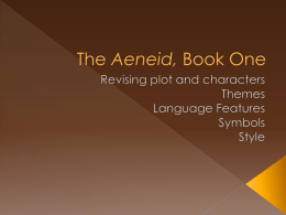 The Aeneid, Book One - without pictures