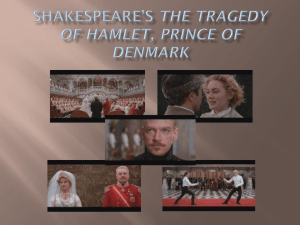 Hamlet Pre-Viewing Powerpoint Notes