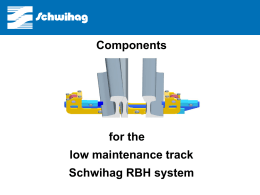 RBH – Roller assembly for use in moveable point