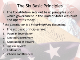 American Government Worksheet – Chapter 4