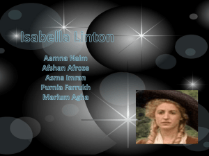 Isabella Linton and Linton Heathcliff