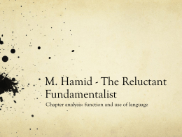 M. Hamid - The Reluctant Fundamentalist