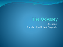 The Odyssey - bensonmagnetenglish