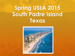 Downloadable South Padre Island Meeting PowerPoint Presentation