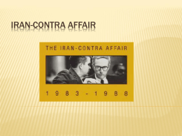 Iran-Contra Affair power point