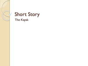 Short Story – The Kayak