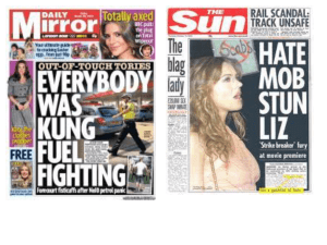 Features of Tabloid vs Broadsheet