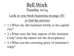 Bell Work Tuesday 10/14