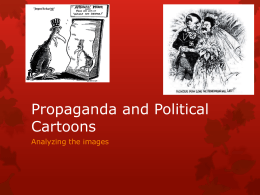 Propaganda and Political Cartoons