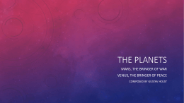 The Planets - WordPress.com