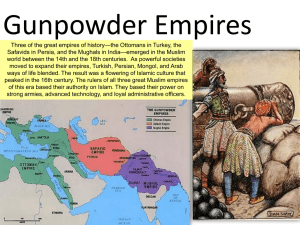 Gunpowder Qing Japan WW