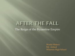 After the Fall (Byzantine Empire)