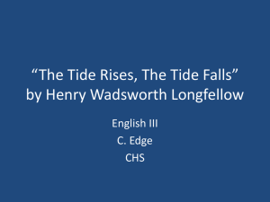 *The Tide Rises, The Tide Falls* by Henry