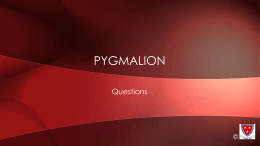 characters questions pyg on © act 1 questions © all types and levels of