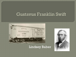 Gustavus Franklin Swift