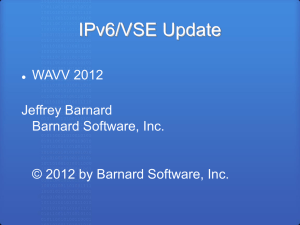 TCP/IP Update - Barnard Software Inc.