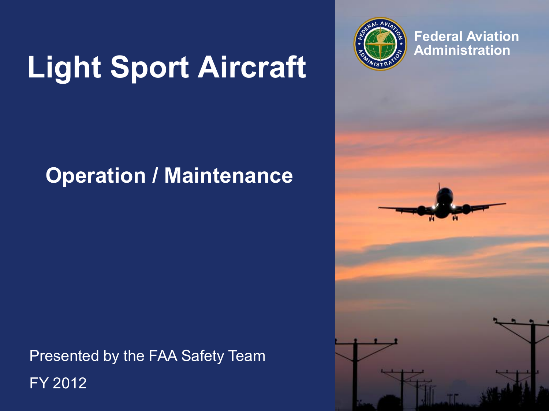 Certification Operation Of Light Sport