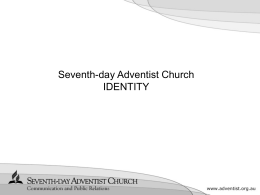 Introduction - Adventist Schools Australia - Seventh