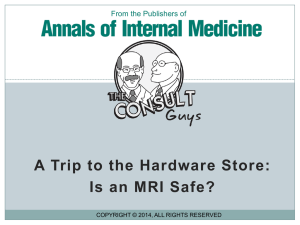 Supplemental Content - Annals of Internal Medicine