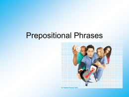 Prepositional Phrases(For Download)