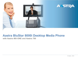 BluStar 8000i for MX-ONE