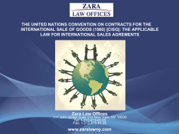 Zara Law Offices 111 John Street Suite 510 New York, NY 10038