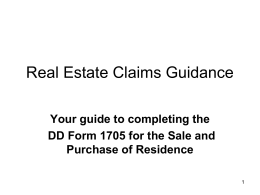 Real Estate Claims G..