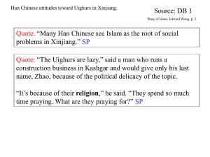 Uighur - Downtown Magnets High School