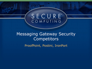 Jumpstart Training: Overview of Messaging Security