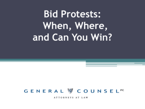 How to Win (and Keep) a Federal Government Contract or Subcontract