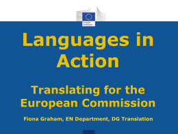 Fiona Graham, European Commission