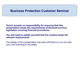 Protecting your business presentation