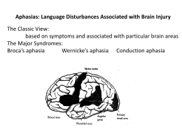 Power Point 16 aphasia