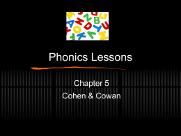 Phonics Act - Nancy Broz