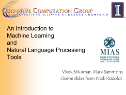 ppt - Cognitive Computation Group