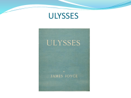 Notes on Ulysses