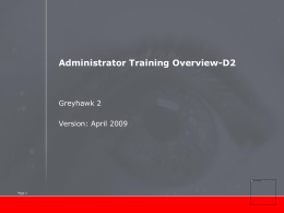 OV-D2-Administrator-training