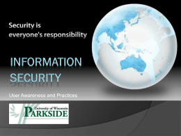 Information Security Awareness