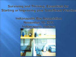 PowerPoint - Indianapolis Bar Association