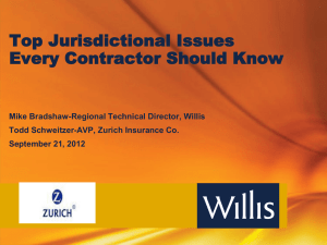 Top Jurisdictional Issues Every Contractor Should Know