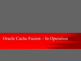 Oracle Cache Fusion – In Operation - oracle-info
