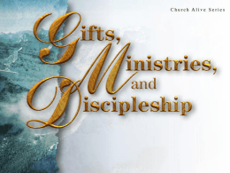 Spiritual Gifts To The Church, February 8 2009