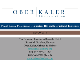 IRS-International-Tax-Issues-May2014