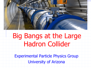 aaa-lhc-physics-day - Experimental Elementary Particle Physics