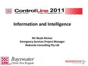 Intelligence - Bayswater CFA
