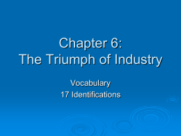 Chapter 6 Vocab - Moore Public Schools