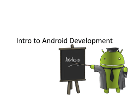 intro 2 android