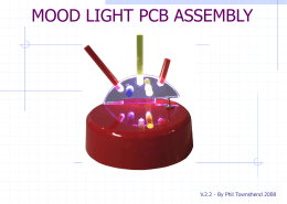 Step-by-step plan of PCB assembly