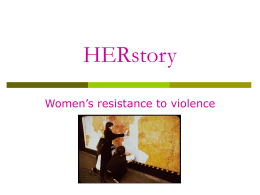 Herstory – Power Point